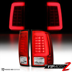 For 09 18 Dodge Ram 1500 2500 3500 tron Style Neon Tube Led Tail Lights Lamps