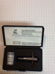 Kavo 634 P4 Hand Piece Turbine Genuine Made In Germany With Back Cap Tool