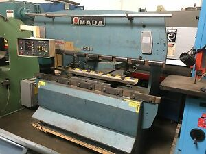 Amada Rg 50 Up Acting Hydraulic Press Brake With Cnc Backgauge 50 Ton X 6 8 Ft