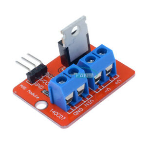 2 5 10pcs Mosf Button Irf520 Mosfet Driver Module For Arduino Arm Raspberry Pi