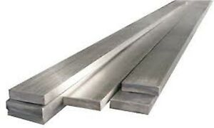 Alloy 304 Stainless Steel Flat Bar Plate 2 X 4 X 14 1 2 1c9