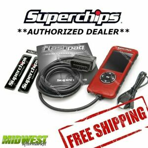 Superchips Flashpaq F5 Performance Programmer For 98 00 Dodge Durango 5 2l
