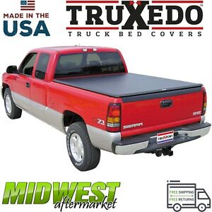 Truxedo Truxport Soft Roll Up Tonneau Cover Fits 2007 2013 Gmc Sierra 8 Bed