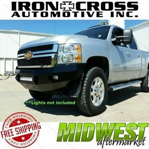 Iron Cross Low Profile Front Bumper Fits 2011 2014 Chevy Silverado 2500 3500 Hd