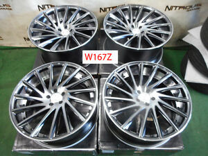 22 Road Force Rf16 Concave Bentley Continental Gt Flying Spur Wheels W167z
