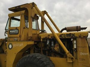 Michigan 75 cm Wheel Loader Rops W over Cab Back Side Supports To Frame