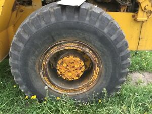 Michigan 75 cm Wheel Loader Rear Axle Assembly P n 191797 Hub to hub