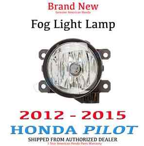 2012 2015 Honda Pilot Genuine Oem Fog Light Lamp Driver Passenger