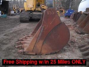 68 Spade Nose Bucket Fits Cat catpillar 235 Excavator