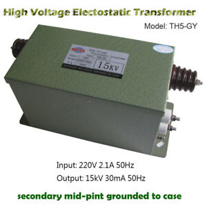 High Voltage Electostatic Transformer Ionsys Antistatic Transformer 15kv30ma450w