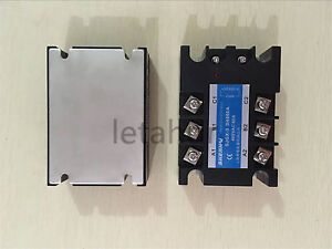 Three Phase Solid State Relay Ssr 25a 40a 60a 100a 3 32vdc Input 480vac Output