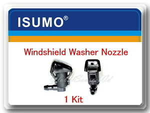 1 Kit Windshield Washer Nozzle Front Fits Ford F250 F350 F40 F550 Super Duty