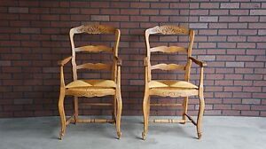 Dining Chairs Ladderback Dining Arm Chairs Antique French Dining Chairs