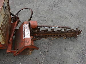 Ditch Witch 350sx Complete Trencher Bar Nice 350 sx