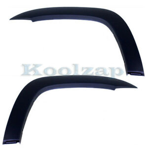 For 05 13 Tacoma Xrunner Front Fender Flare Wheel Opening Molding Trim L R Pair