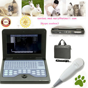 Veterinary Vet Machine Portable Laptop Ultrasound Scanner 5 0 Micro convex Probe