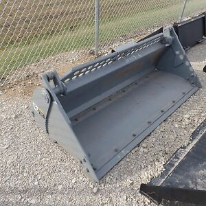 73 4 In 1 Heavy Duty Bucket Skid Steer Attachment
