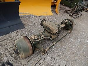 Front Rockwell 5 Ton Axle M900 A2 Seires M931 M929 Air Brakes M923 Steer