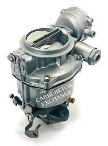 1957 1961 Chevy Gmc Remanufactured Rochester 1 Barrel Carburetor 235 Engine