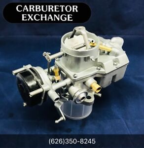 1964 1969 Ford Mustang Single Pump 1 Barrel Motorcraft Autolite 1100 Carburetor