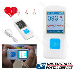 Fda Portable Ecg Monitor rechargable Bluetooth Ecg Checker Pm10 Us Sale