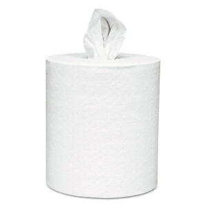 Scott Center pull Towels 8 X 15 White 250 Sheets roll 6 Rolls carton 01061