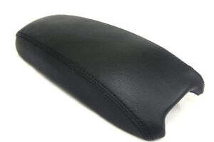 Center Console Armrest Leather Synthetic Cover For Chevrolet Blazer 98 04 Black