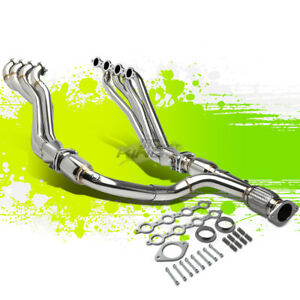 Long Tube Exhaust Manifold Header Y Pipe For 06 09 Trailblazer Ss 6 0l Truck