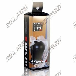 Nissan Nismo Duracon Racing Black Shift Knob Se R Gtr G35 G37 S13 S14 Altima S15