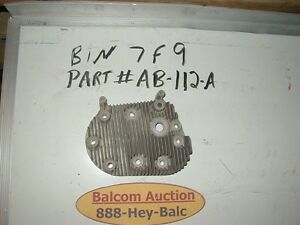 Wisconsin Engine Part Ab 112 A Cylinder Head nos