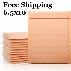 1 500 0 6x10 Kraft Pink Color Bubble Padded Mailers Fast Shipping