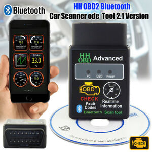 Elm327 V2 1 Obdii Obd2 Bluetooth Car Scanner Android Auto Dtcs Scan Tool