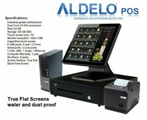 Aldelo Pro Pro Pizza Windows 10 Restaurant Pos System 1 Year Free Tech Support