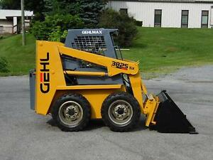 1997 Gehl 3825sx Rubber Tire Skid Steer Loader