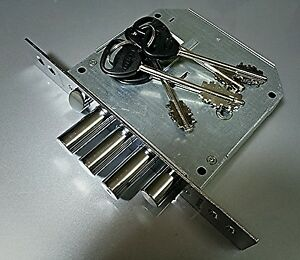 Border Lock High Security Lever 4 Motions Door Main Lock Mortise Type Left Side
