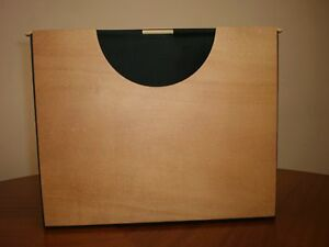Pinetti Wood Material Hanging File System Gently Used Good Condition
