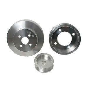 Bbk Performance 1554 Power plus Series Underdrive Pulley System 94 95 Mustang