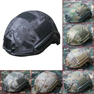 Outdoor Airsoft Paintball Tactical FOR Military Gear Combat Fast Helmet Cover