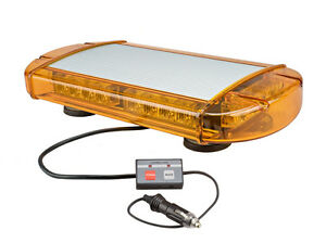Wolo Outer Limits Amber Gen 3 Led Low Profile Mini Bar Light Snow Plow Tow Truck