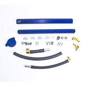 Bbk Performance 5010 High flow Billet Aluminum Fuel Rail Kit Fits 86 93 Mustang