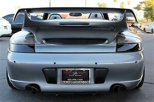 Porsche 911 996 Turbo C4s Rear Bumper Gemballa Wing Led Tail Lights