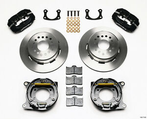 140 7140 Wilwood Rear Disc Brake Kit Big Ford 9 Inch New 2 1 2 Offset