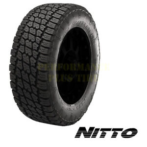 Nitto Terra Grappler G2 Lt295 70r17 121 118r 10 Ply Quantity Of 4