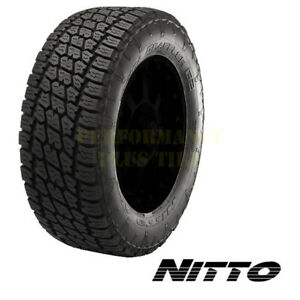 Nitto Terra Grappler G2 Lt285 55r22 124 121r 10 Ply Quantity Of 4