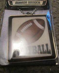Football Car Mirror Hanger New Free Shipping