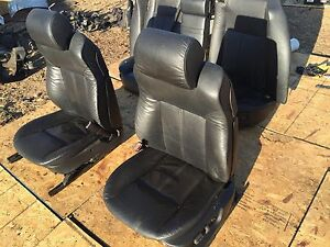Bmw 16 way Comfort Active Wood Heated E38 750il 740il 740i 750 Rear Power Seat