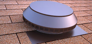 Active Ventilation Pop Vent 14 In Diameter Aluminum Powder Coated Brown P