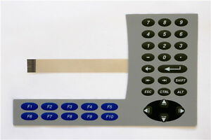 Membrane Keypad For Ab 2711p k6m20a8 Panelview Plus 6 600 h237c Yd
