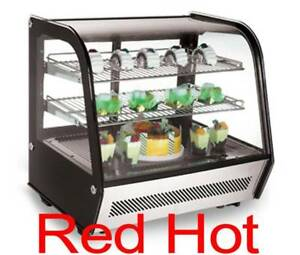 Omcan 27156 Countertop Commercial Refrigerated 27 Display Case Rs cn 0120