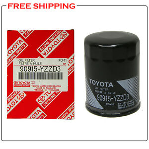 Toyota Oem Engine Oil Filter 90915 Yzzd3 For 4runner Tundra Tacoma